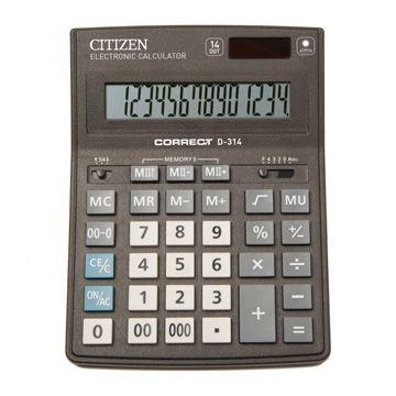 Калькулятор Citizen Correct D, 14 разрядов